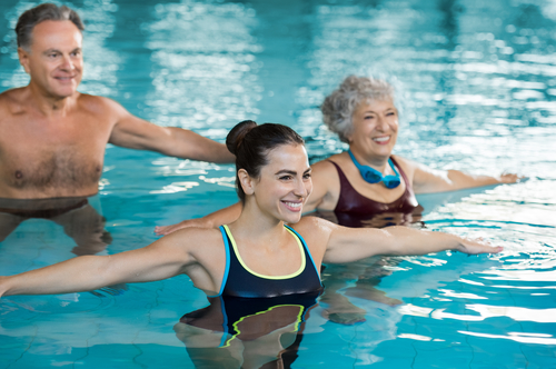 Basics on Water and Pool Exercise Therapy