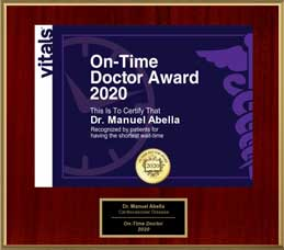 On-Time Doctor Award 2020